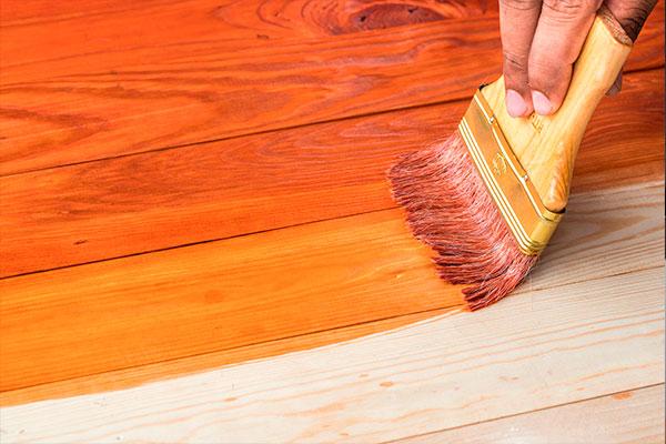 Tipos de pintura para madera