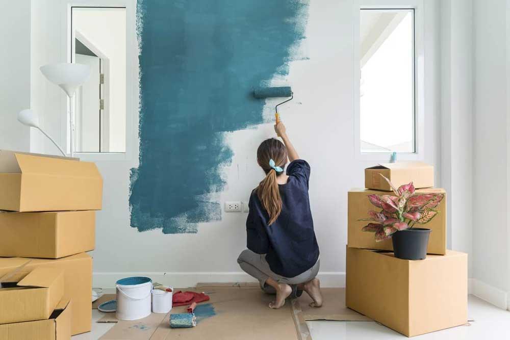 Quién debe pintar un piso de alquiler ¿el inquilino o el casero?